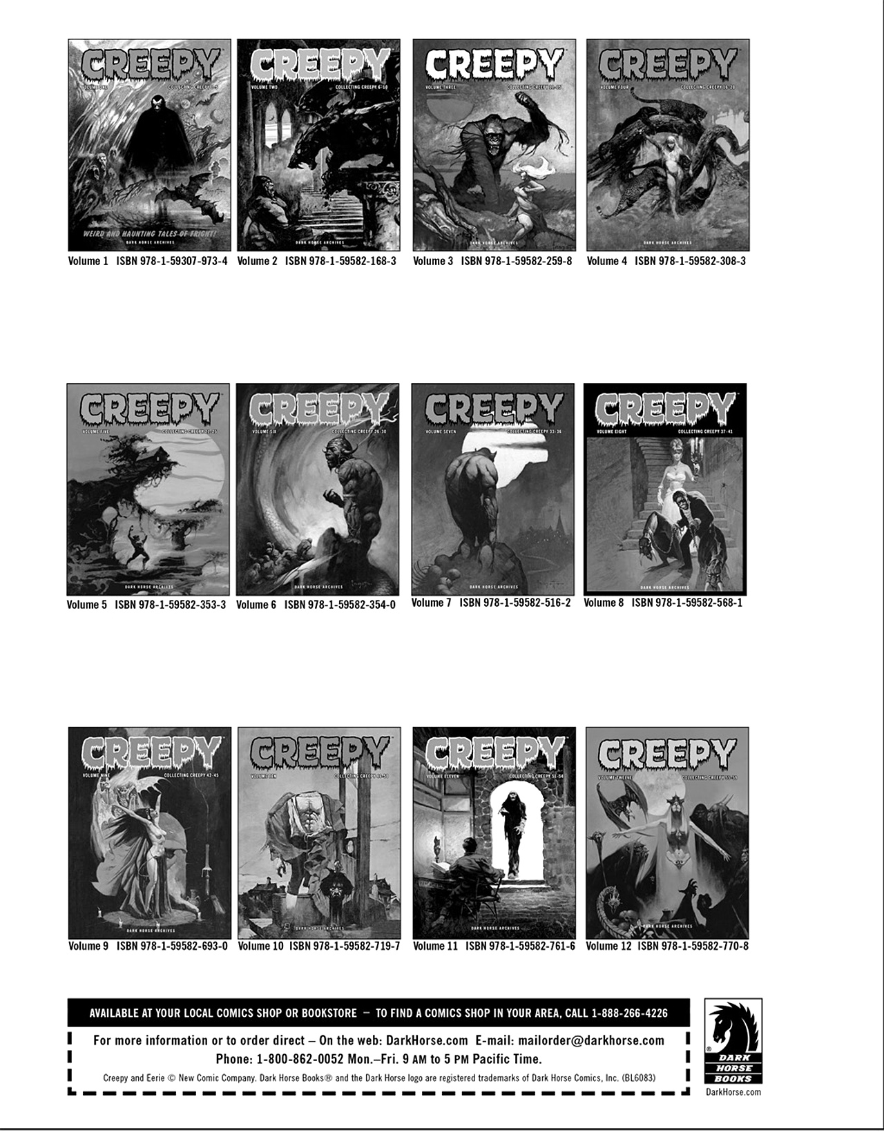 Read online Eerie Archives comic -  Issue # TPB 10 - 269