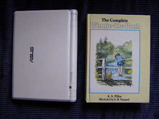 The Asus Eee PC compared to The Complete Winnie-the-Pooh by A. A. Milne
