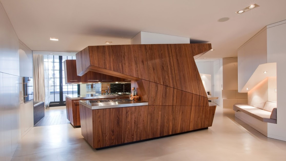 Modern Contemporary Interior Design Kitchen