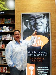 CairnsBlog net: Cairns motivational author Andrew Griffiths on TV