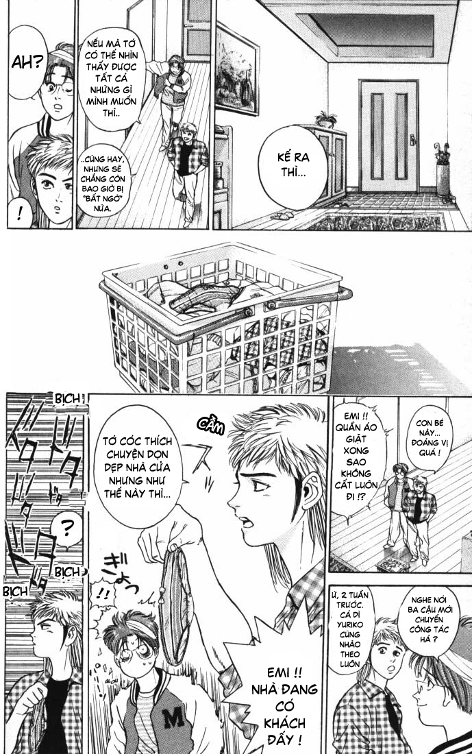 Psychometrer Eiji chapter 12 trang 10