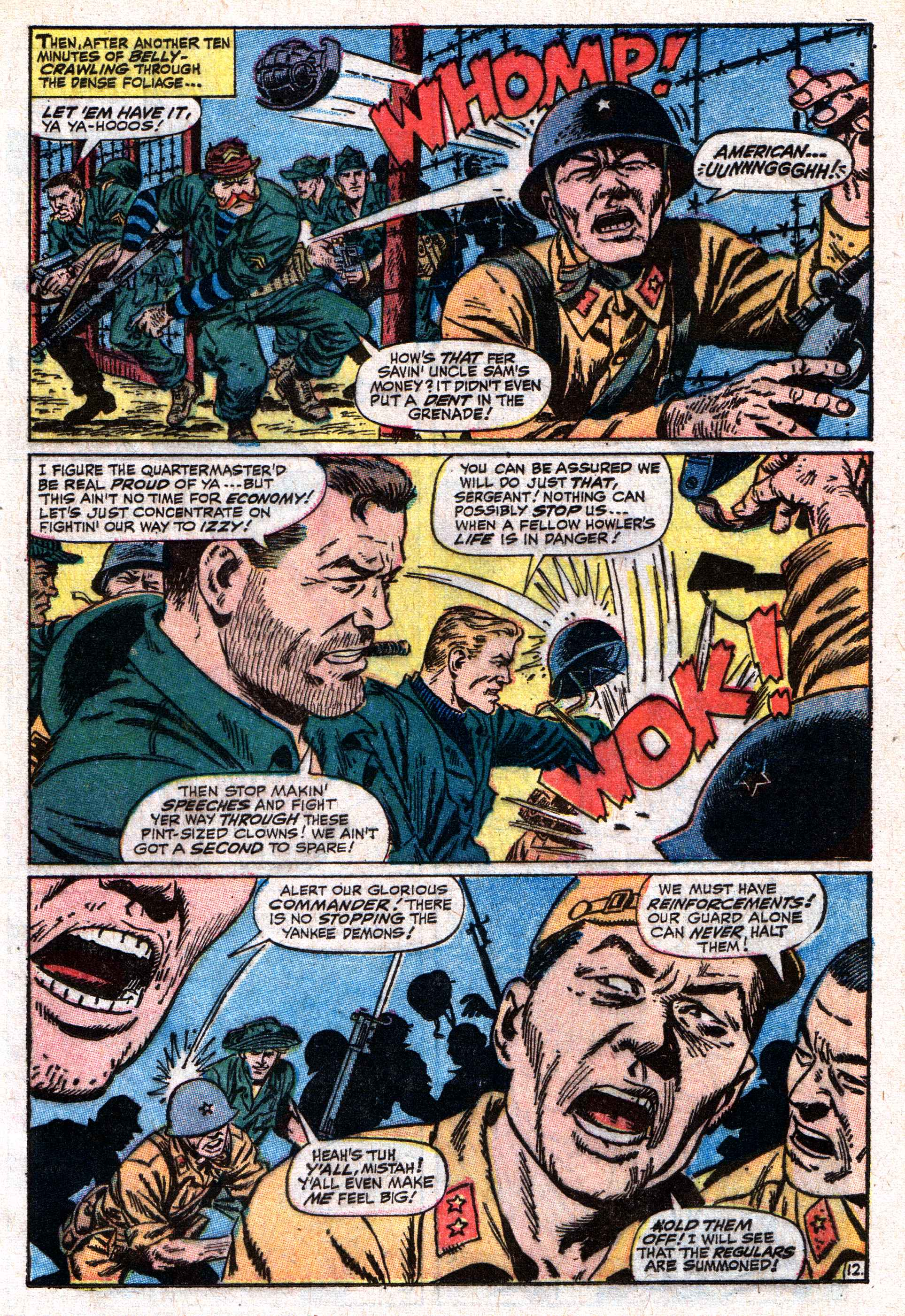 Read online Sgt. Fury comic -  Issue #50 - 17