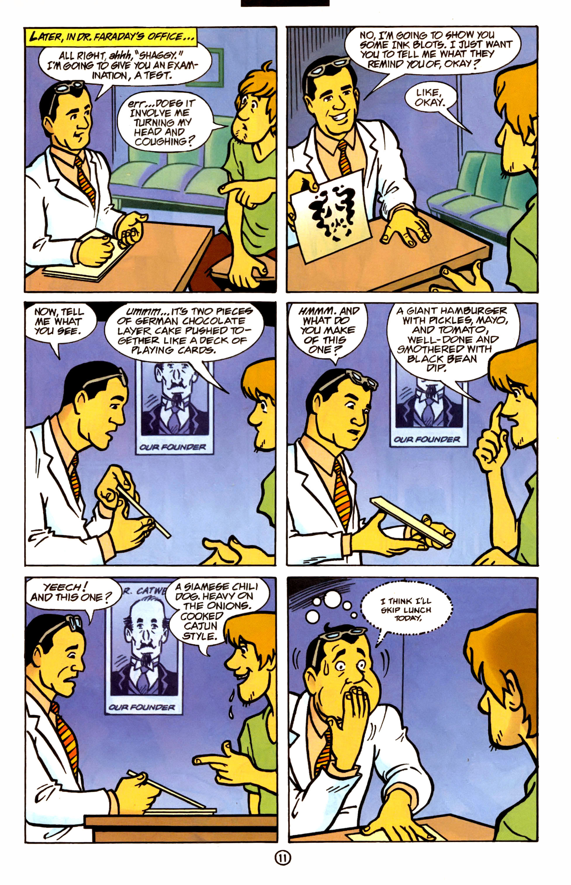 Read online Scooby-Doo (1997) comic -  Issue #1 - 10