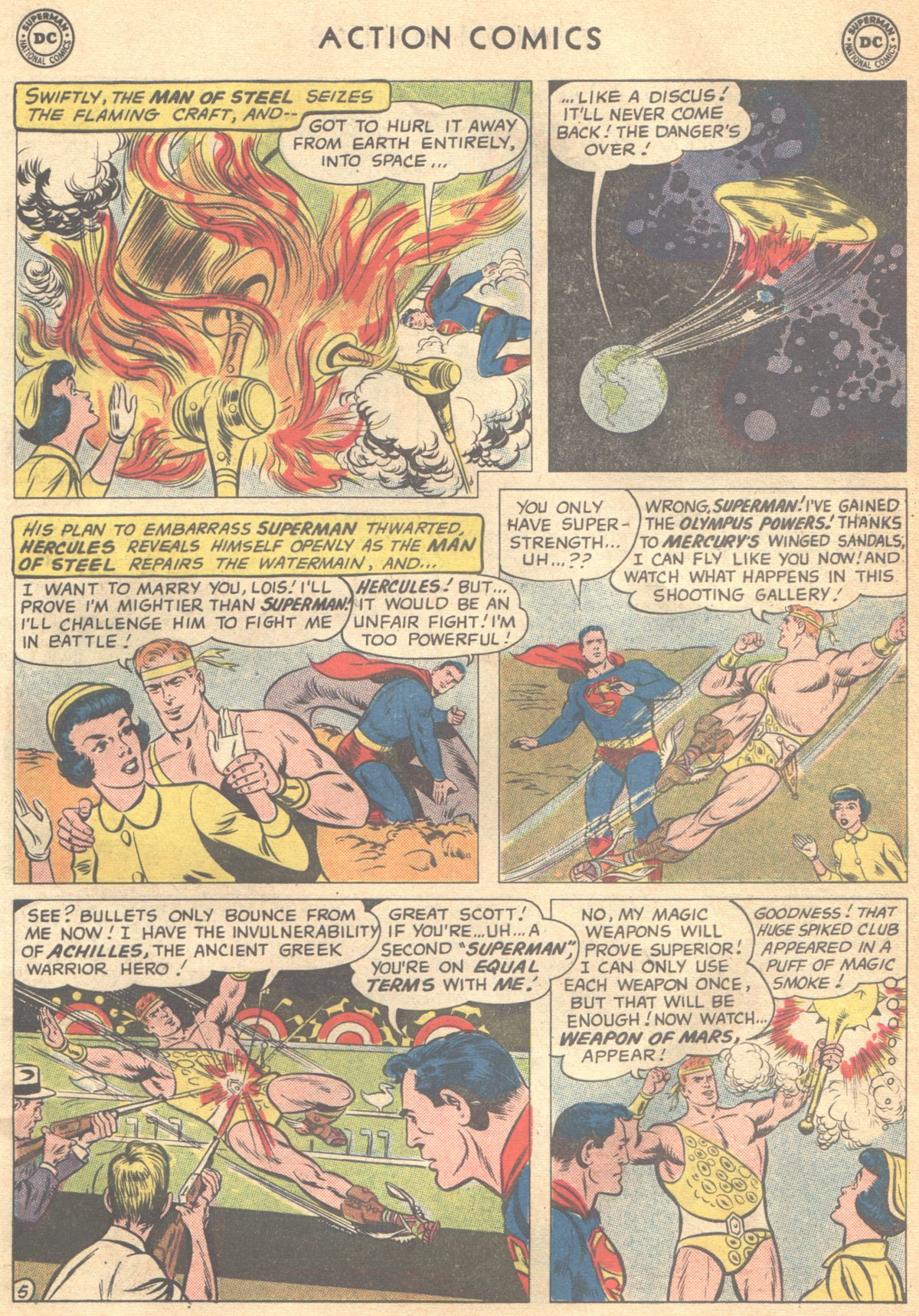 Read online Action Comics (1938) comic -  Issue #268 - 7