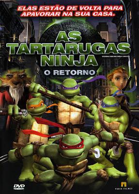 As Tartarugas Ninja: O Retorno - DVDRip Dublado