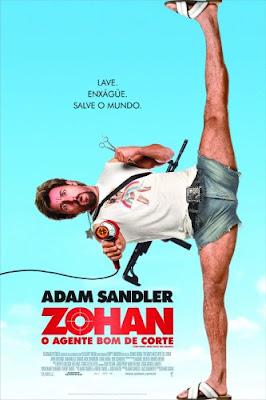 Zohan: O Agente Bom de Corte - DVDRip Dual Áudio