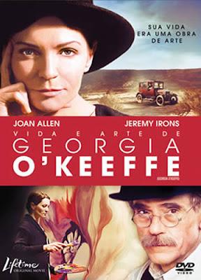 Vida e Arte de Georgia O' Keeffe - DVDRip Dual Áudio