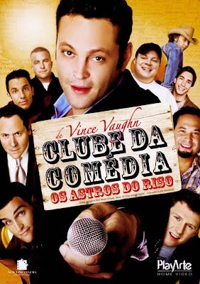 Clube da Comédia: Os Astros do Riso - DVDRip Dublado (RMVB)