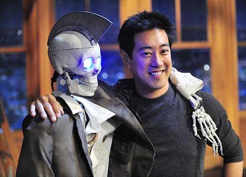 Grant Imahara And His Robot Pics