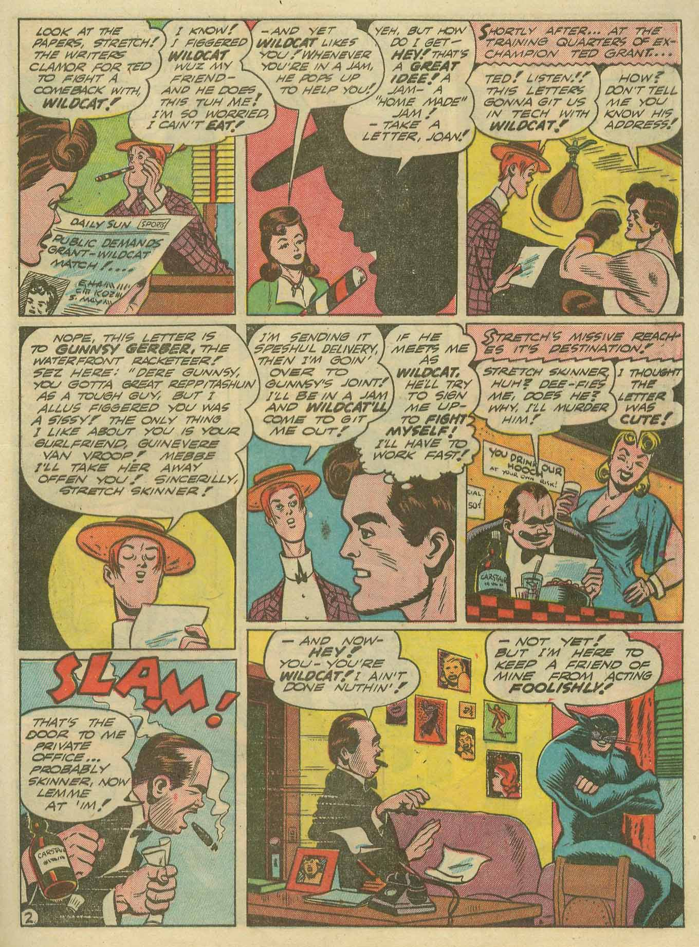 Read online Sensation (Mystery) Comics comic -  Issue #14 - 57