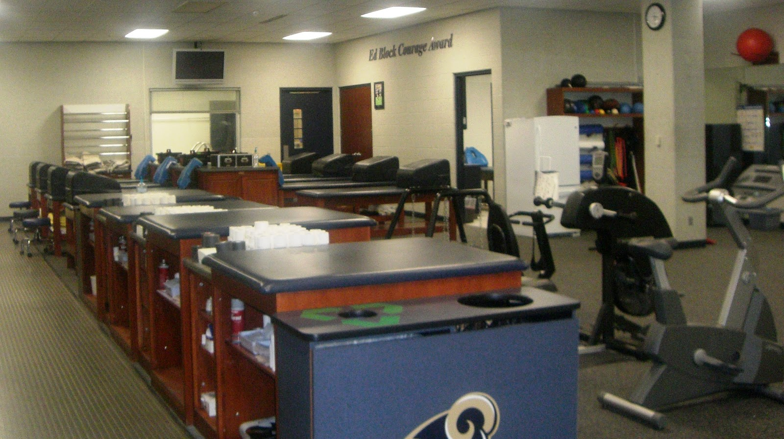 Saint Louis University Athletic Training Program SLU Athletic Training Students Get a Look at