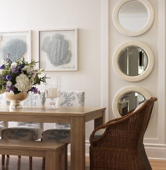 Sala de Jantar clássica. Blog Achados de Decoração
