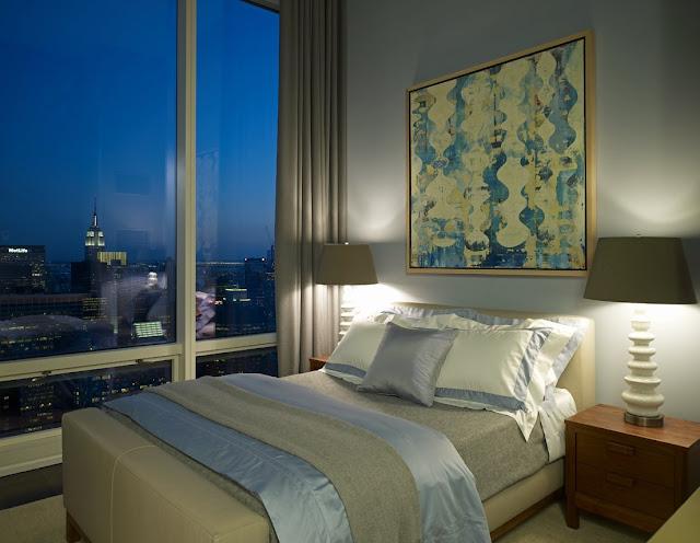 Quarto de hotel no blog Achados de Decoração