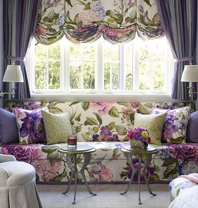 Decoração de janelas com cortinas lindas. Blog Achados de Decoração
