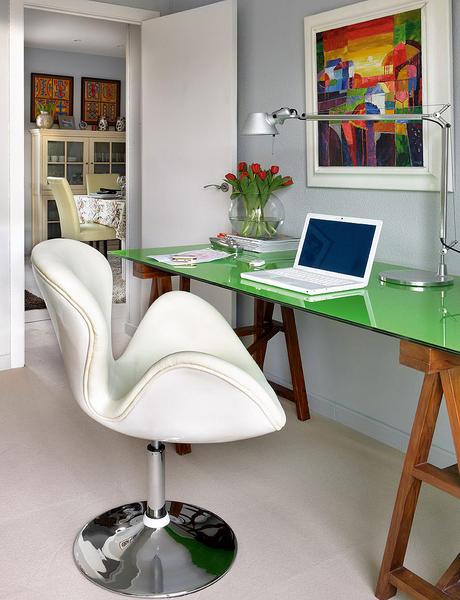 Um mimo de apartamento 50 m² muito bem decorado. Blog Achados de Decoração