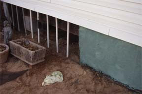 Low Rent Renaissance Latex Cement Skirting For Mobile Home