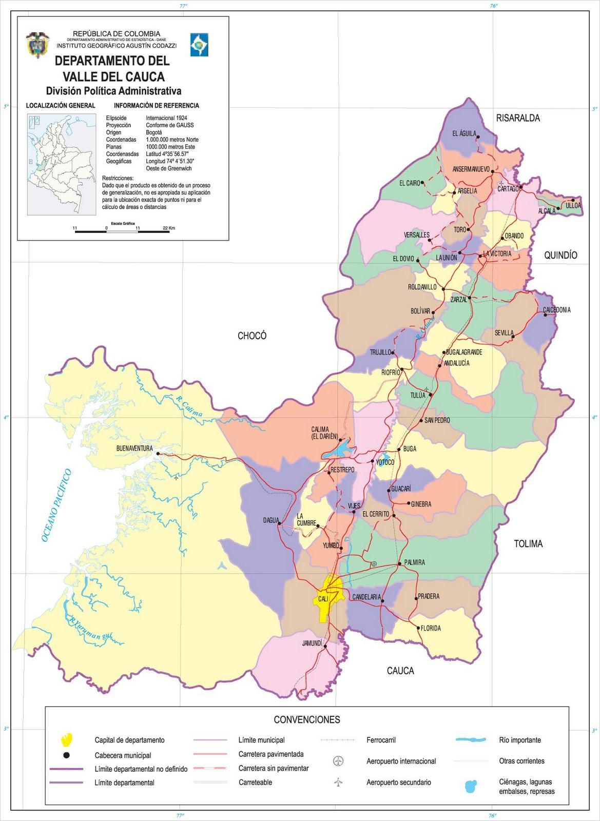 Valle del Cauca: departamento de Colombia