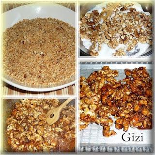 Gizi-receptjei: Grillázs készítése házilag, krémek..