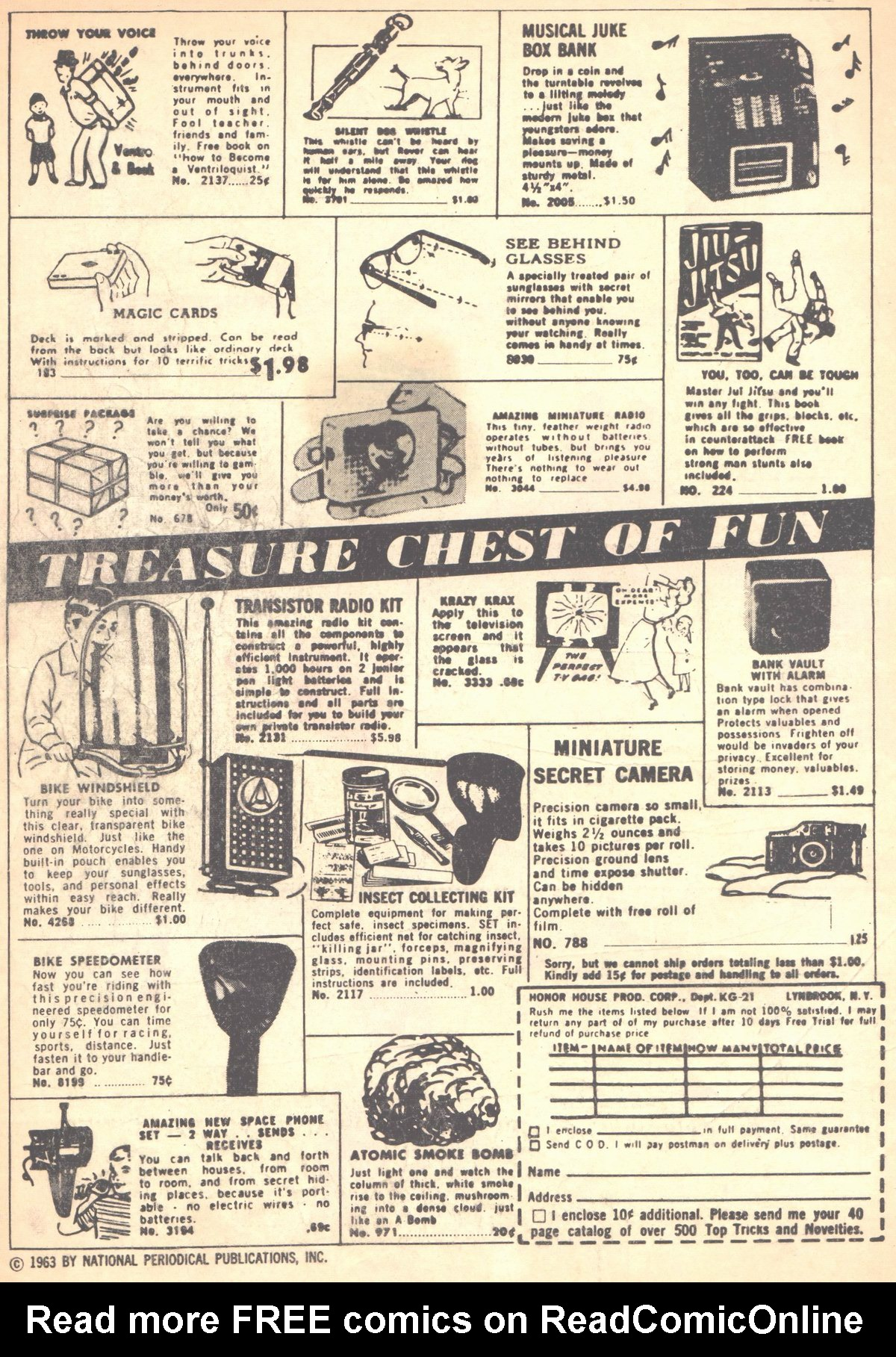 Read online Adventure Comics (1938) comic -  Issue #315 - 2