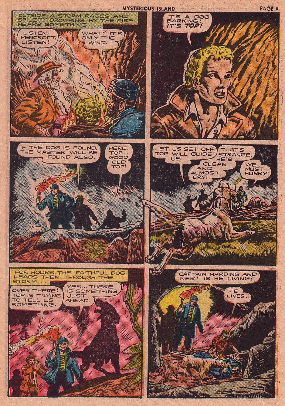 Classics Illustrated issue 34 - Page 10