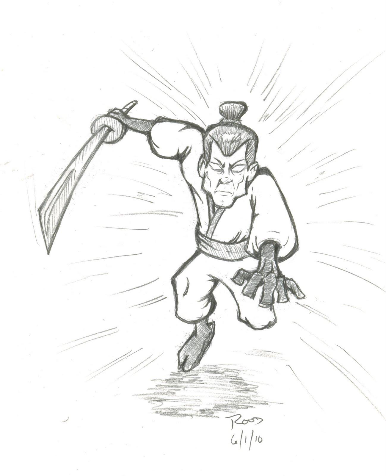 June 1 2010 the running ninja