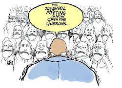 A Disgruntled Republican in Nashville: Town Hall Cartoons