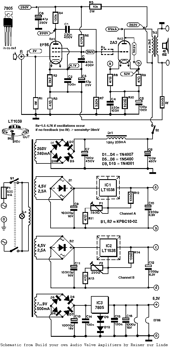 Elektronika: Power Amp TUBE