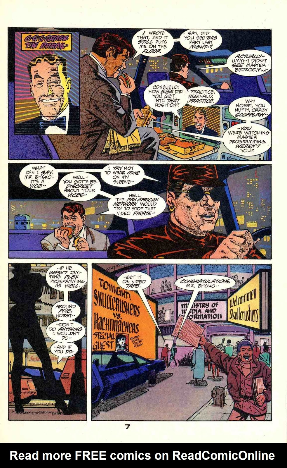 Howard Chaykin's American Flagg issue 2 - Page 9