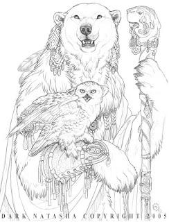 wolf kingdom: dark natasha art