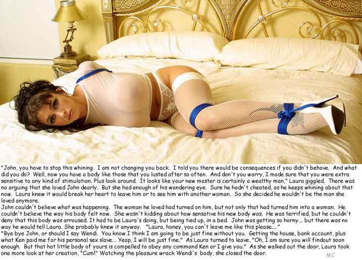 corset sissy captions
