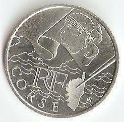 collection euros des régions 2010