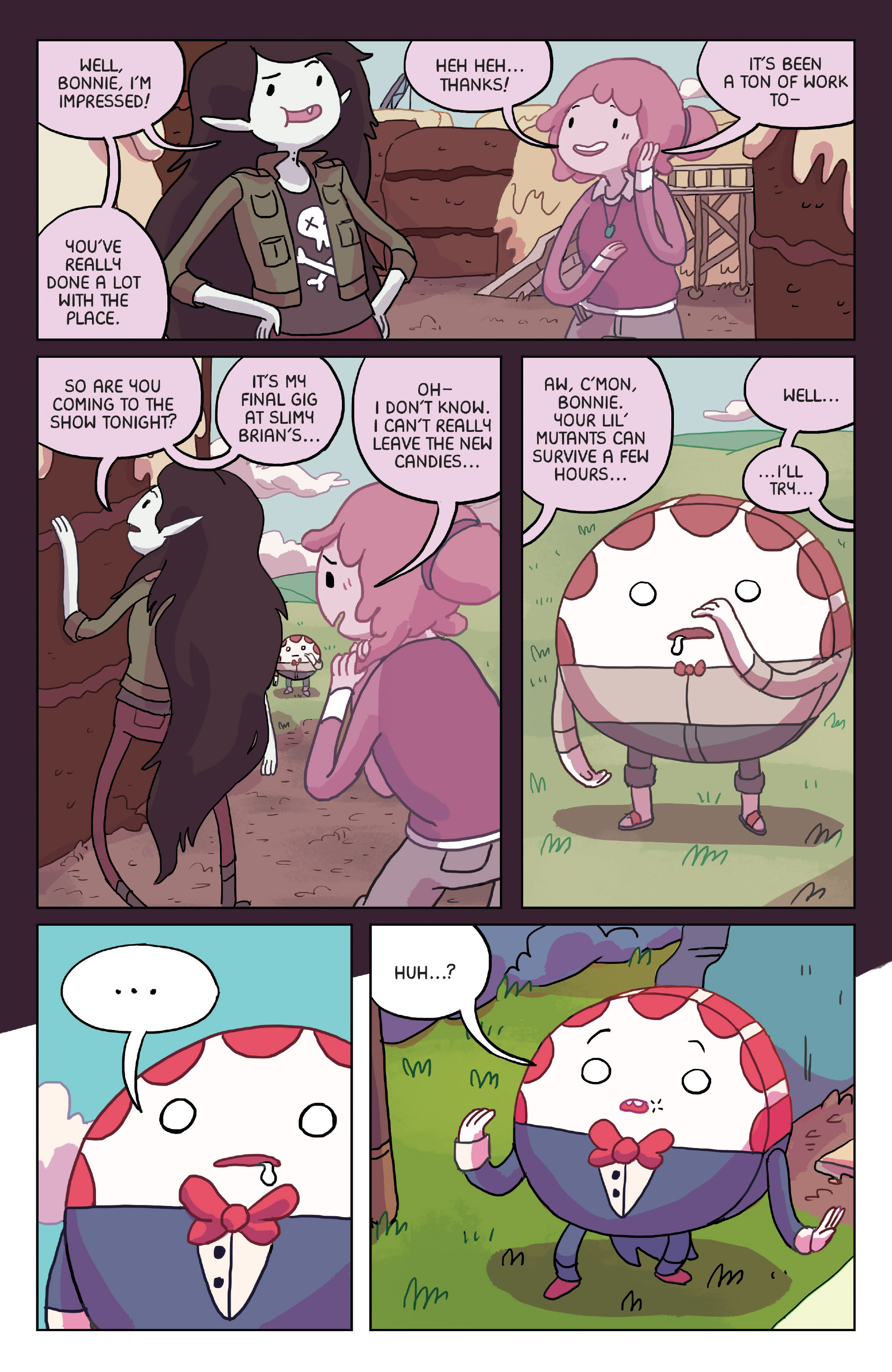 Read online Adventure Time: Marceline Gone Adrift comic -  Issue #2 - 9
