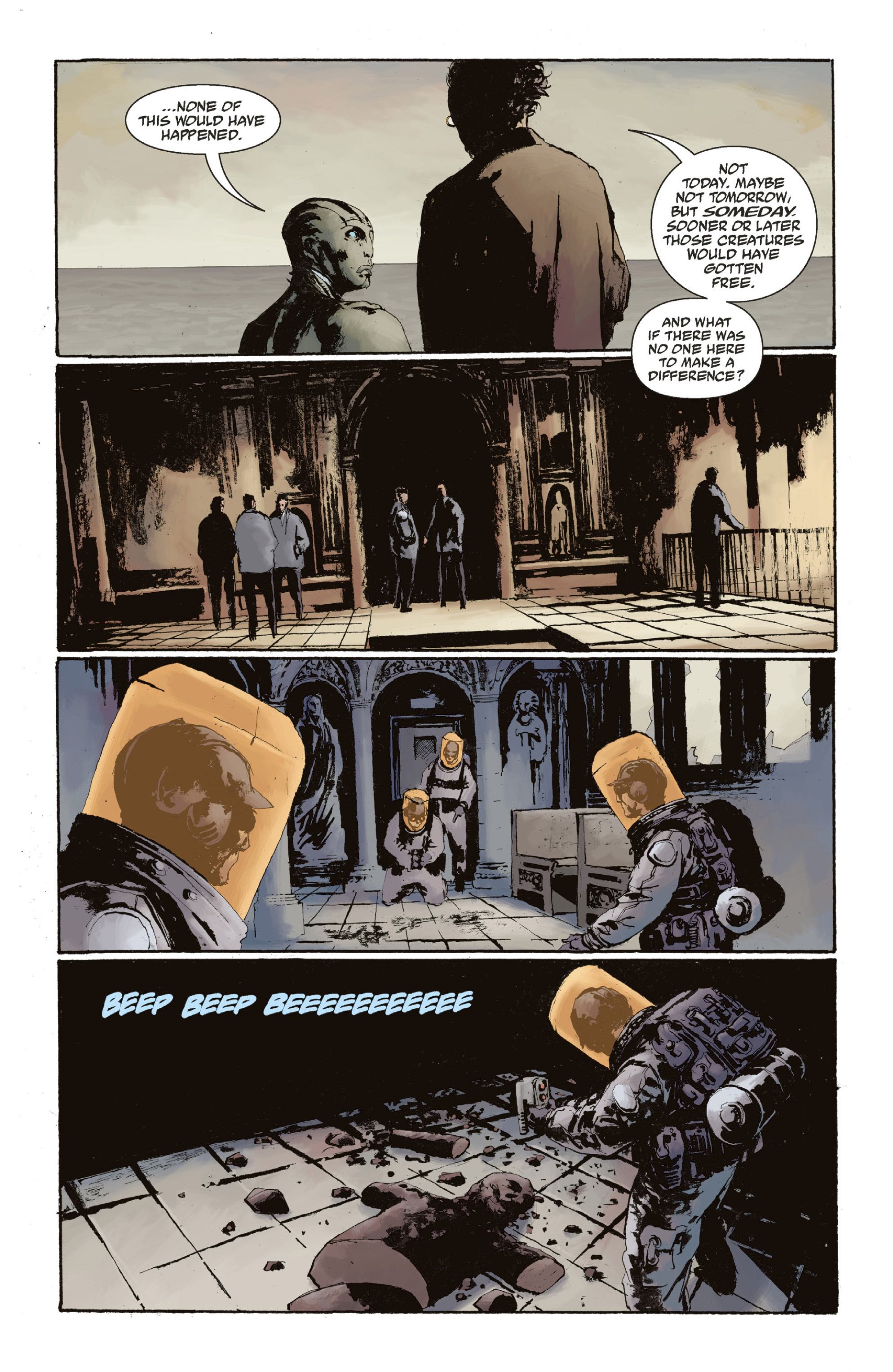 Read online Abe Sapien: The Drowning comic -  Issue #Abe Sapien: The Drowning _TPB - 134