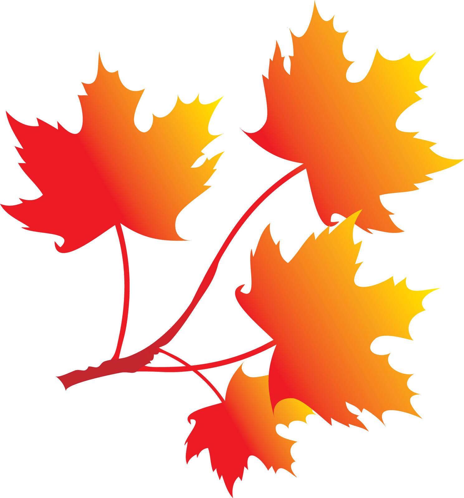 ZIBI SCRAP: Jesienne liście
