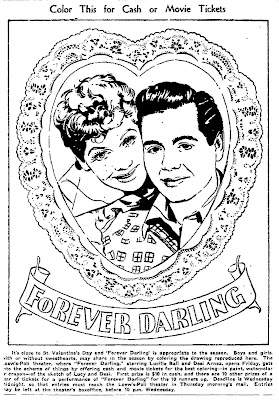 lucille ball coloring pages | Mostly Paper Dolls: August 2009