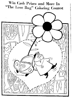 Herbie The Love Bug Coloring Sheets | Coloring Page