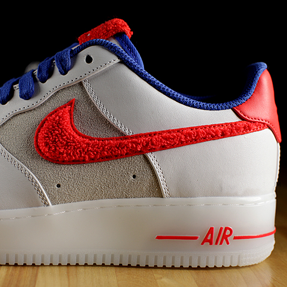 nike air force 1 baffo rosso