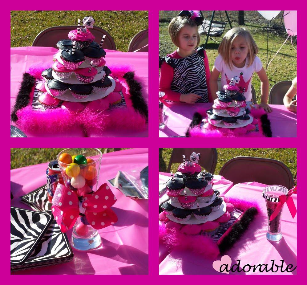 Supplies: Zebra Print Party Supplies