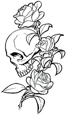 Purchasing In Tattoos Skull And Rose Tattoo