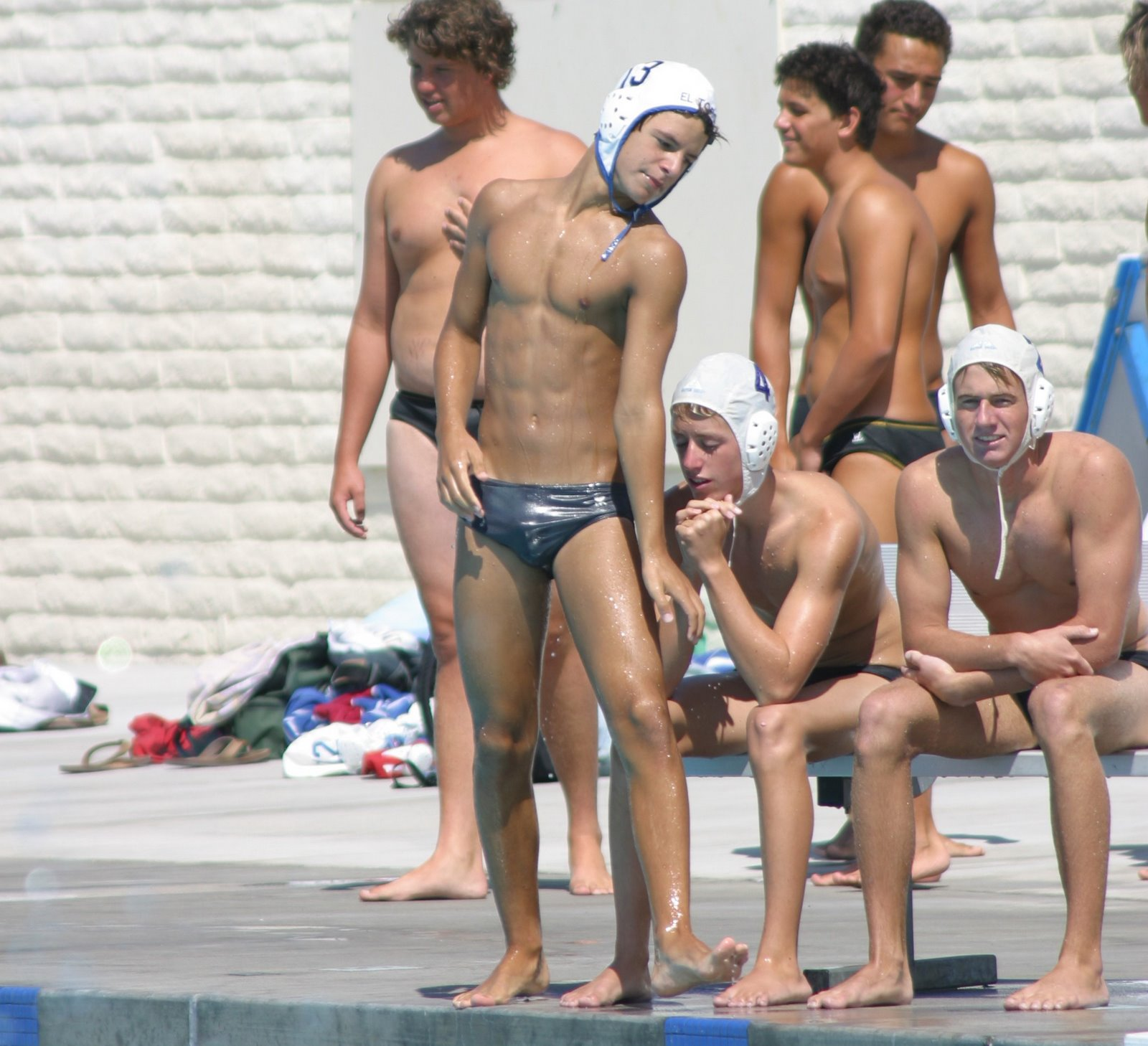 Water polo nude naked for