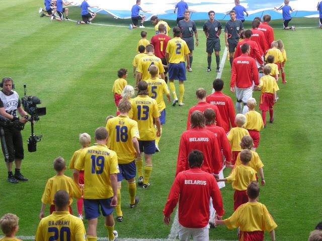 Sweden v Belarus.
