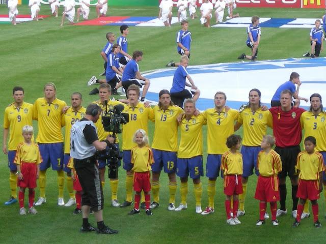 Semi-final day in Sweden.