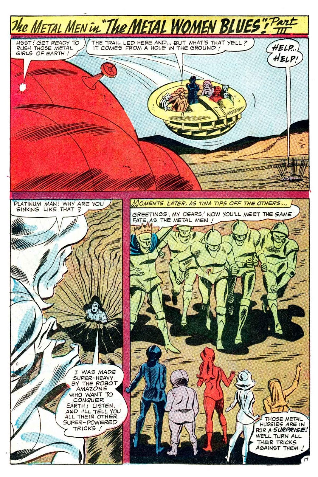 Metal Men (1963) issue 32 - Page 22