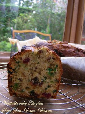 Sens Sans Dessus Dessous Veritable Cake Anglais Aux Fruits Confits