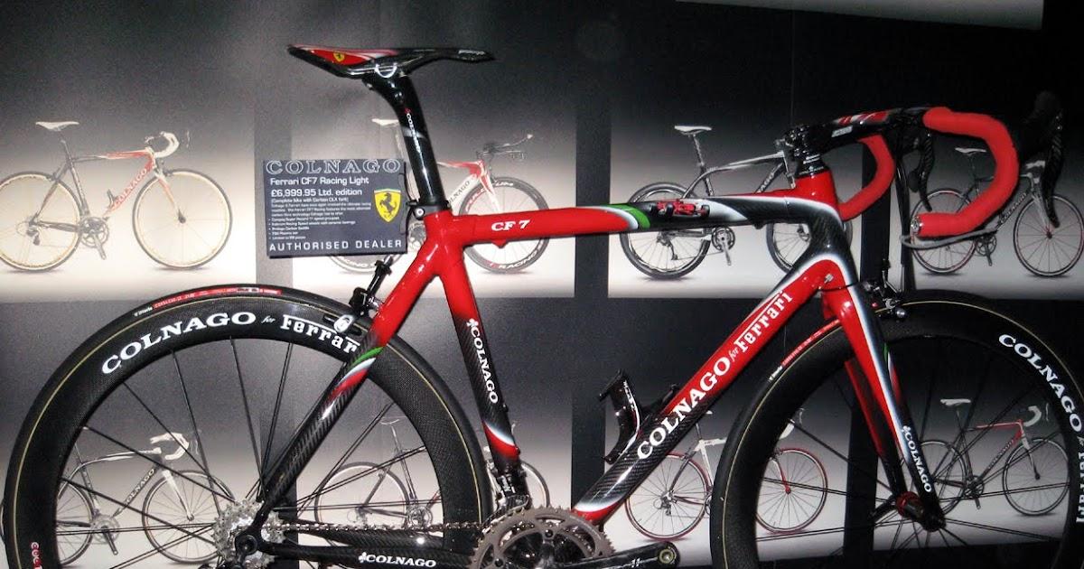 blog 8g Wuih, Sepeda mahal buatan Ferrari