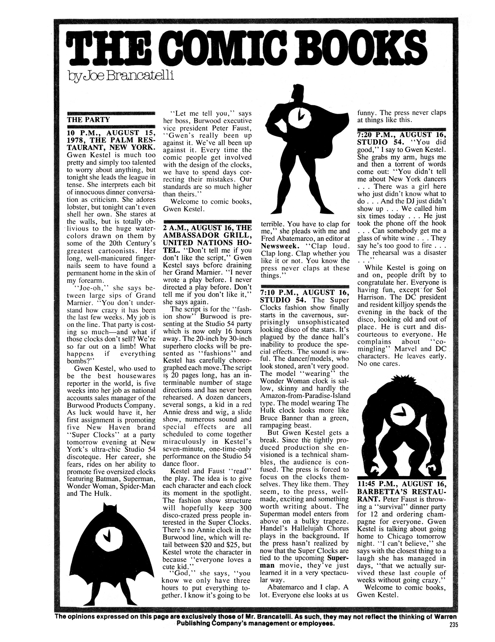 Read online Eerie Archives comic -  Issue # TPB 20 - 235