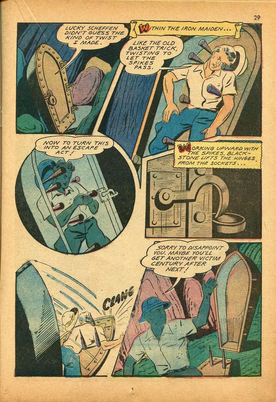 Read online Super-Magician Comics comic -  Issue #9 - 29