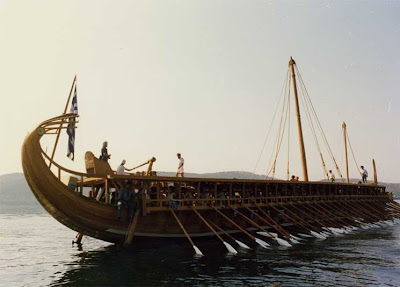V Ling Yacht Progress Trireme