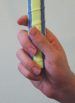Pegangan Raket : pegangan, raket, Kelab, Badminton, Lelaki, Jalan, Batu:, Teknik, Pegangan, Raket