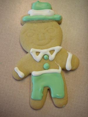 st patricks day party ideas leprechaun cookie